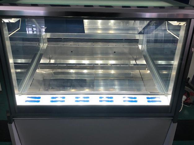 Ifi 12 tégelyes fagylaltpult, fagylaltvitrin
