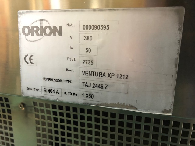 Orion 24 tégelyes fagylaltvitrin, fagylaltpult