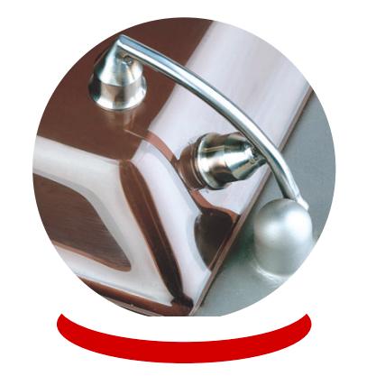 Dadaux Rubis 22-es asztali hűtött húsdaráló, unger rendszer, 400V