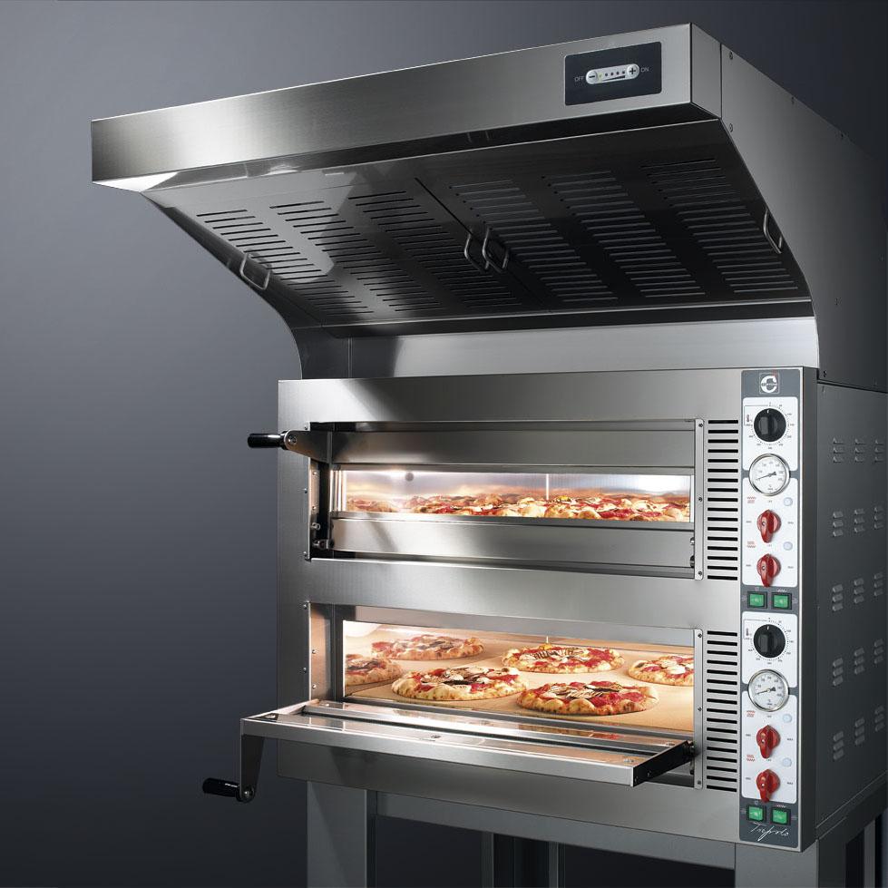 Cuppone Tiepolo elektromos pizzakemence 1 aknás TP435/1