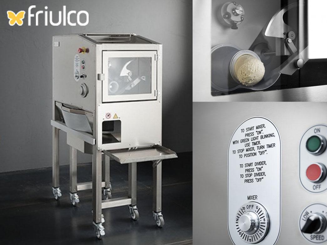 Pizzatészta előkészítés mesterfokon a Friulco gépeivel