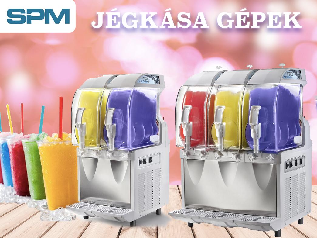 SPM jégkásagépek, a valódi nyári ízélményekért!