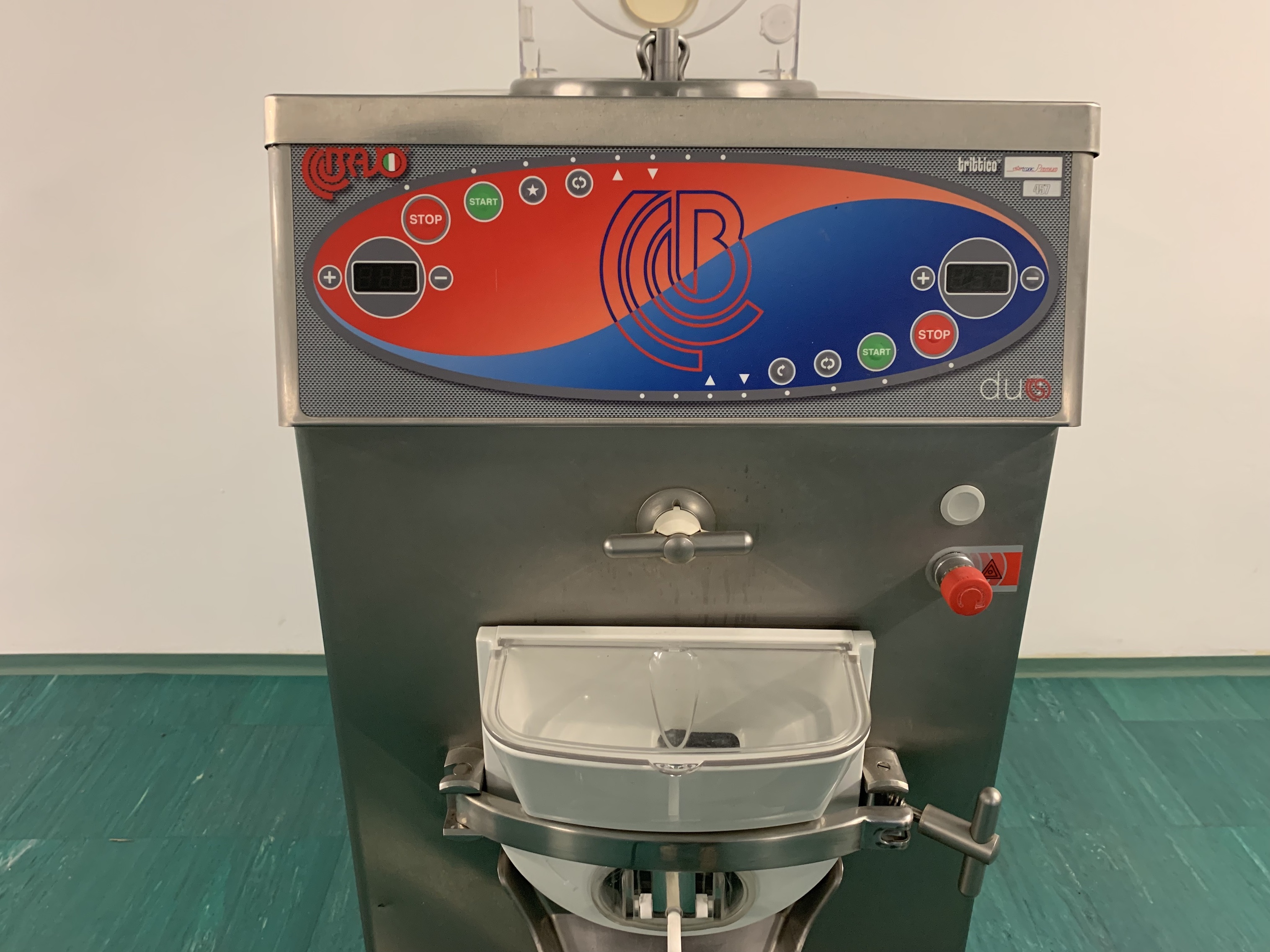 Bravo Trittico 457 Premium Duo kombinált fagylaltgép