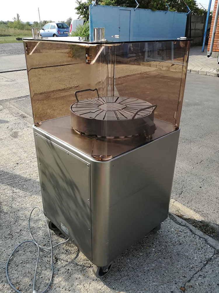 Elektromos tömbsajtporciózó, sajtporciózó, sajtvágó gép