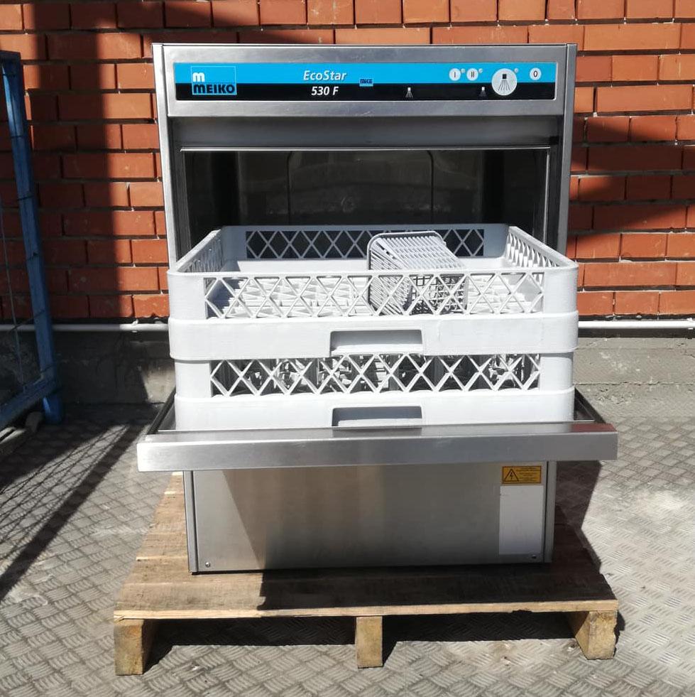 Meiko Eco Star 530F tányér- és pohármosogatógép