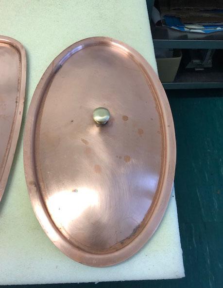 Culinox réz és saválló edények, serpenyők, fedők