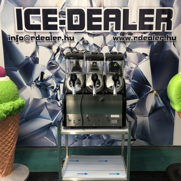 GBG Sencotel 3 tégelyes jégkásagép