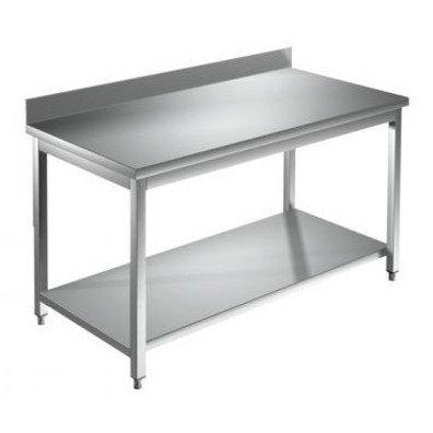 Rozsdamentes asztal 1200x700 mm