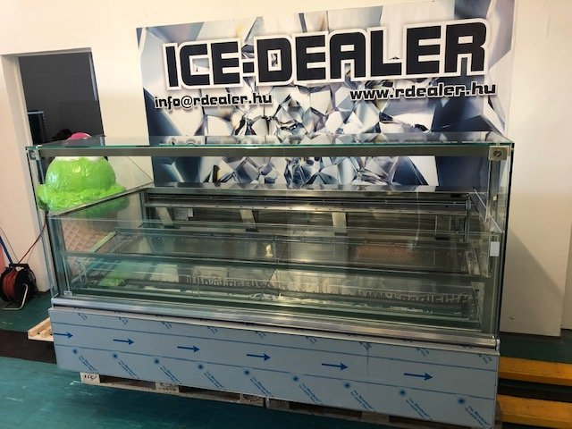 ISA Supershow 24 tégelyes fagylaltpult