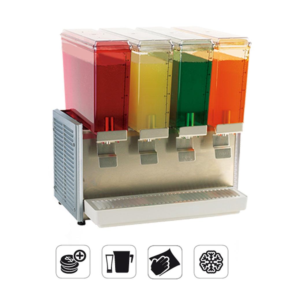 SPM Mini Q italhűtő, italadagoló 4x9 Liter