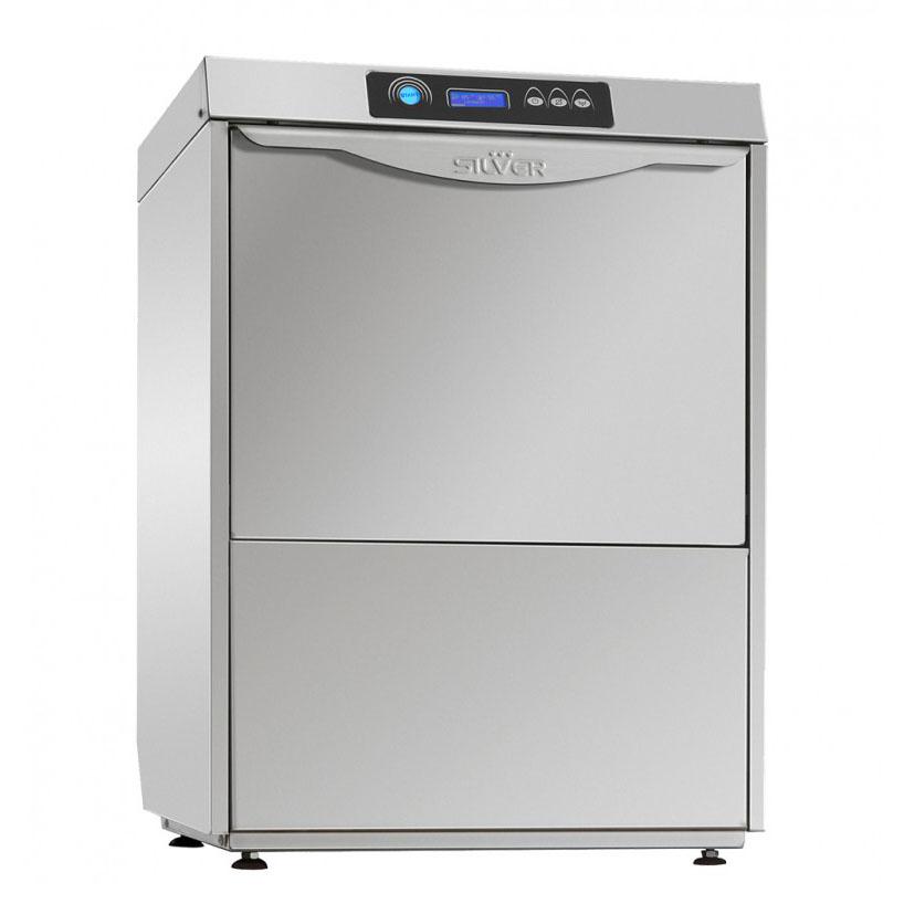 SILVER EXCEL 500 DA pohár és tányér mosogatógép, beépített vízlágyítóval