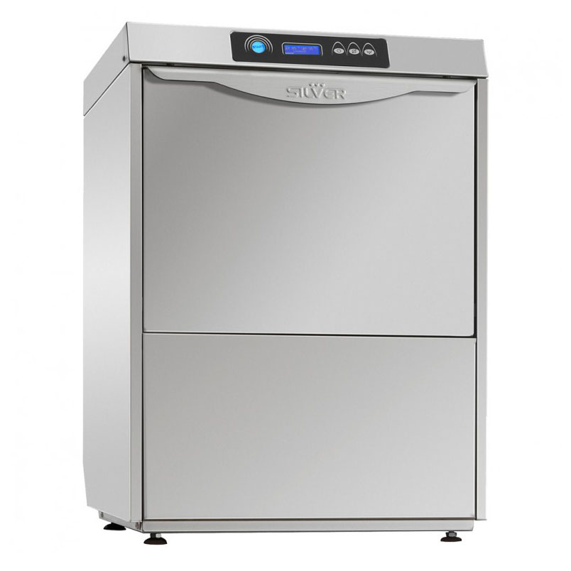 SILVER EXCEL 500 CUTLERY pohár és tányér mosogatógép, UV lámpával