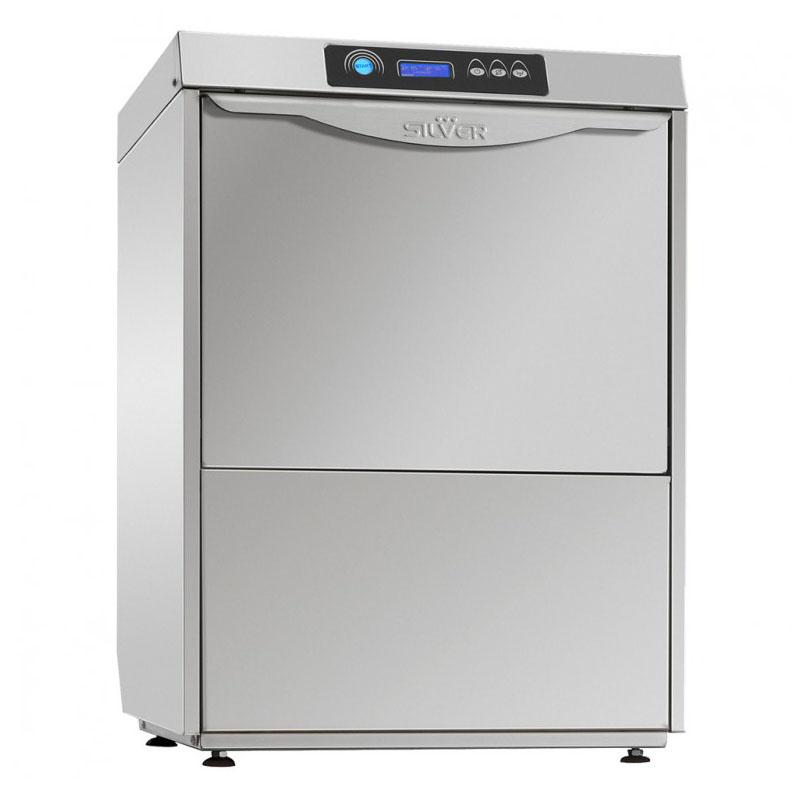 SILVER EXCEL 500 DA CUTLERY pohár és tányér mosogatógép, UV lámpával, beépített vízlágyítóval