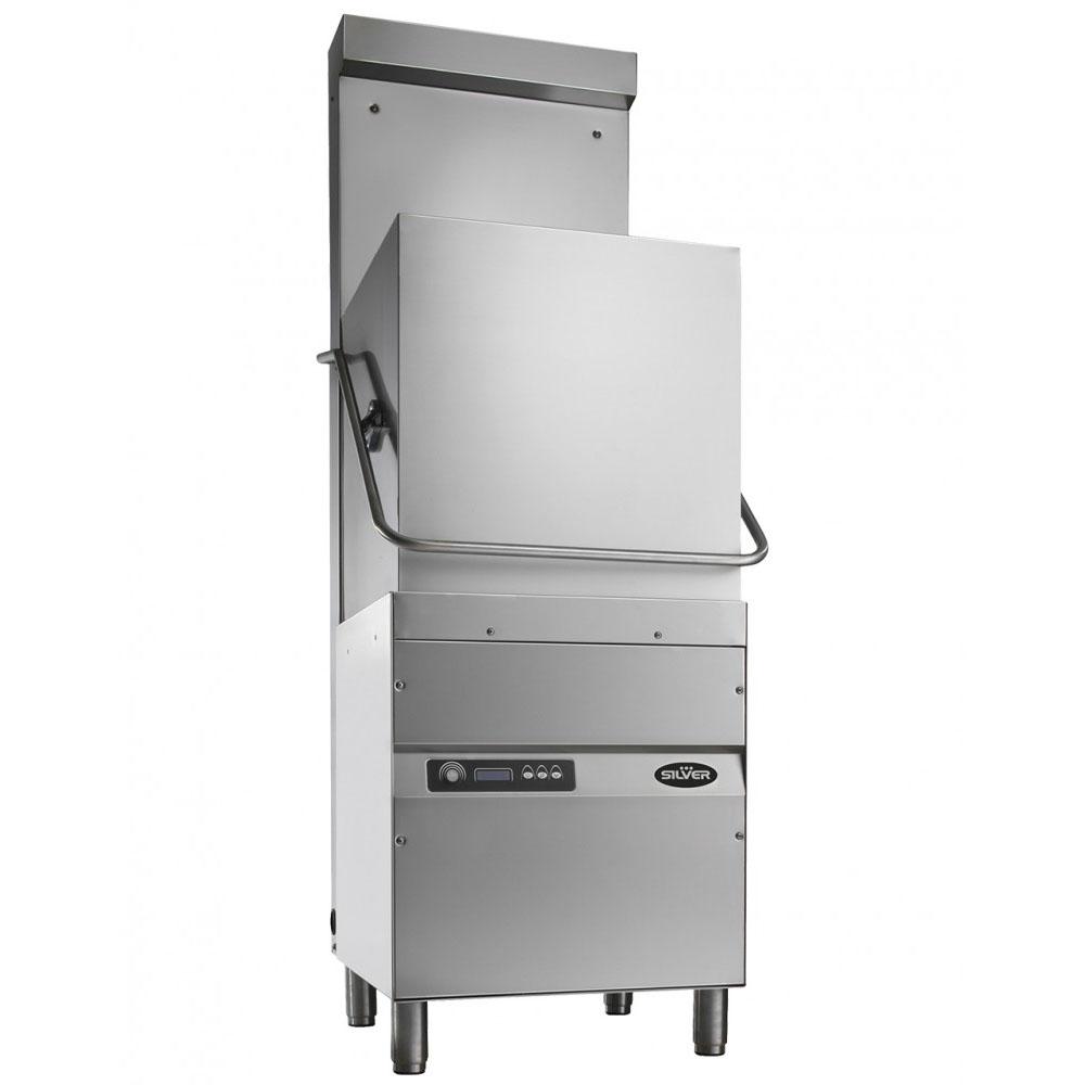 SILVER 1500 EXCEL HR DA kalapos mosogatógép, hővisszanyerős, beépített vízlágyítóval