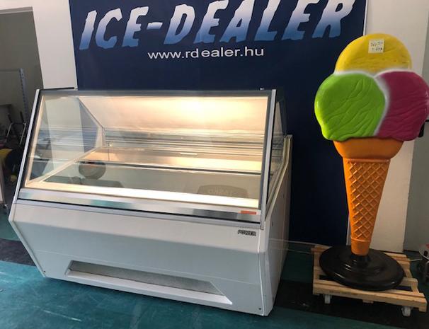 Italproget 18 tégelyes fagylaltpult