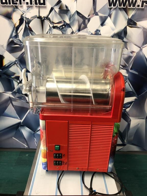 GBG Sencotel 2 tégelyes jégkásagép, piros