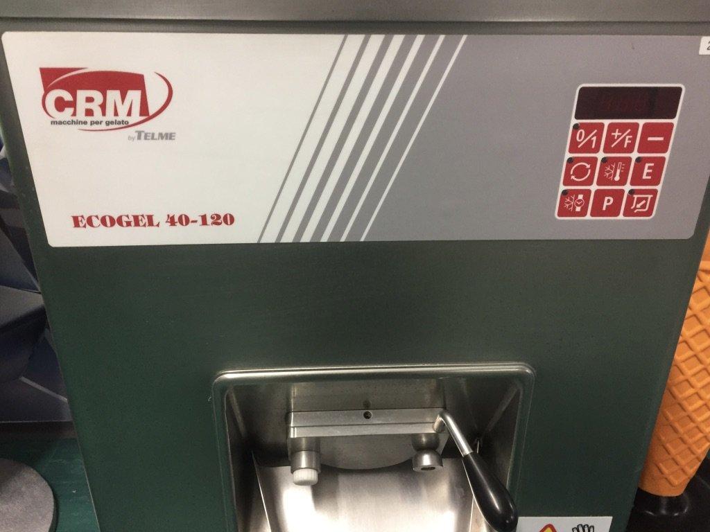 CRM Ecogel 40-120 Fagylalt fagyasztó